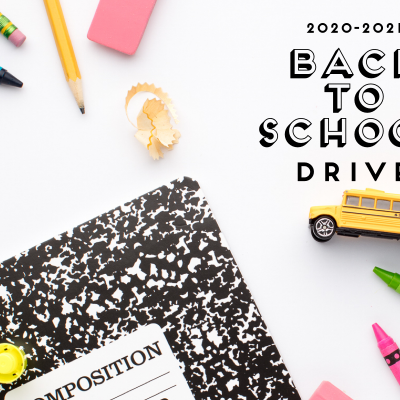 2020-2021 Back to School Drive